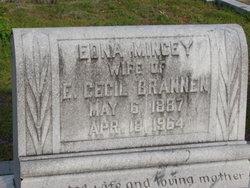 Edna <i>Mincey</i> Brannen