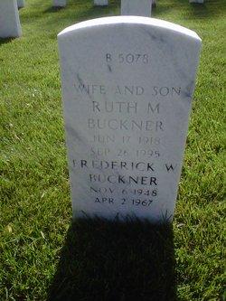Ruth M Buckner