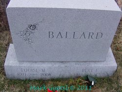 Louise Mary <i>Goulette</i> Ballard