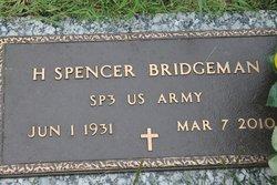 H Spencer Bridgeman
