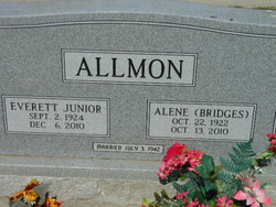 Alene <i>Bridges</i> Allmon