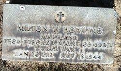 Milton W. Bowling