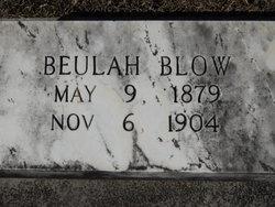 Beulah Bernice <i>Roberson</i> Blow