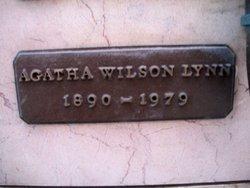Agatha <i>Wilson</i> Lynn