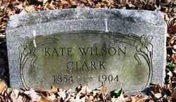 Kate <i>Wilson</i> Clark