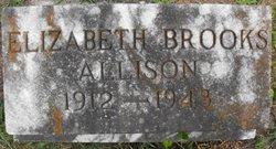 Elizabeth <i>Brooks</i> Allison