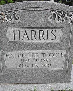 Hattie Lee <i>Tuggle</i> Harris