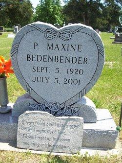Pearl Maxine <i>Steadman</i> Bedenbender