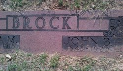 John Benjamin Brock, Jr
