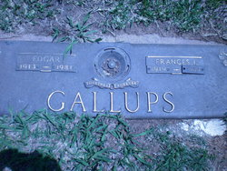 Frances Irene <i>Burks</i> Gallups