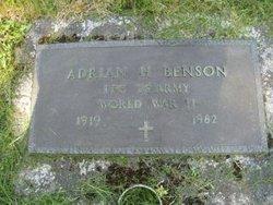 PFC Adrian Hamilton Benson