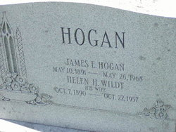 Helen M. <i>Wildt</i> Hogan