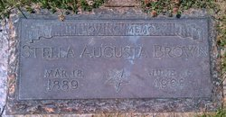 Stella Augusta <i>Smith</i> Brown