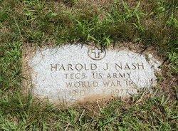 Harold J Nash