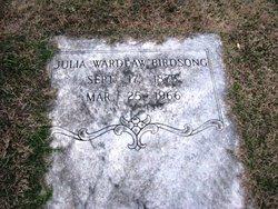 Julia <i>Wardlaw</i> Birdsong