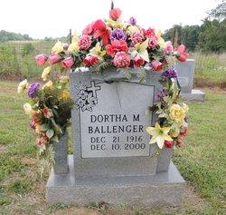 Dortha M. <i>Grider</i> Ballenger