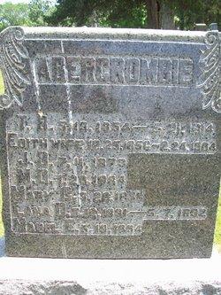 Mabel E Abercrombie