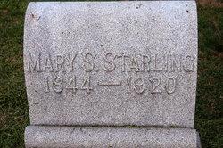 Mary Mollie <i>Stewart</i> Starling