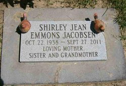 Shirley Jean <i>Emmons</i> Jacobsen
