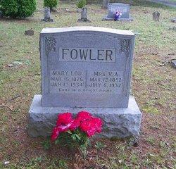 Mrs Volumnia Adeline Lummie <i>Cain</i> Fowler