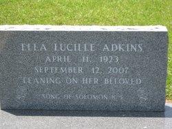 Ella Lucille Adkins