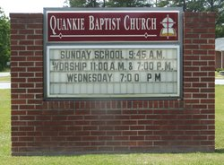 Quankie Baptist Church Cemetery