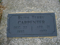 Ruth Whillamina <i>Terry</i> Carpenter