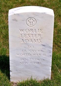 Worlie Lester Adams
