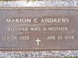 Marion Case <i>Crawford</i> Andrews