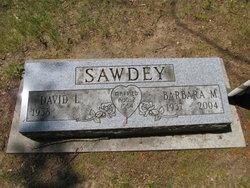 Barbara Marion. <i>Blancett</i> Sawdey