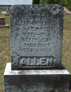 Josephine <i>Curtis</i> Allen