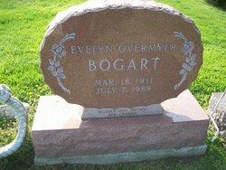 Evelyn M. <i>Overmyer</i> Bogart
