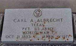 Carl Charlie A Albrecht