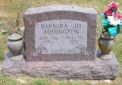 Barbara Jo Addington