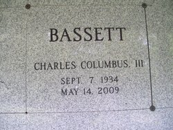 Charles Columbus Bassett, III