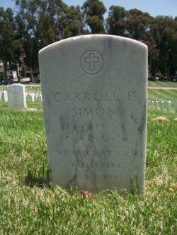 Capt Carroll Edward Simon