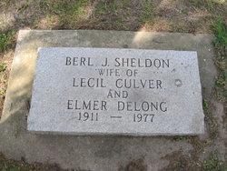 Berl Josephine <i>Sheldon</i> Culver