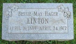 Bessie May Hager <i>Fletcher</i> Linton