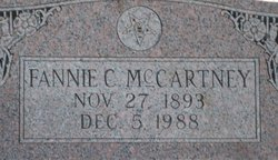 Fannie <i>Cupples</i> McCartney
