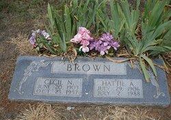 Hattie Arlena <i>Hooper</i> Brown