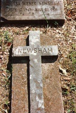 Louisa <i>Weber</i> Newsham