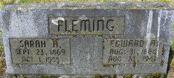 Sarah Adah Sadie <i>Bell</i> Fleming