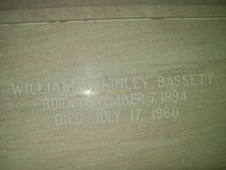 William McKindley Bassett