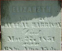 Elizabeth Thompson <i>Scott</i> Harrison