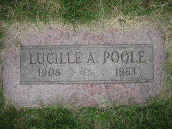 Lucille A Poole
