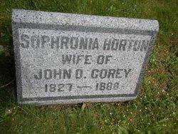 Sophronia <i>Horton</i> Corey