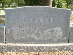 Nancy Rachel <i>Collum</i> Cassel