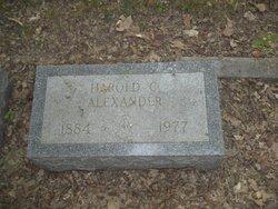 Harold C Alexander