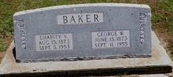 Charity Victoria <i>Hurst</i> Baker