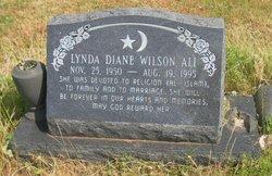 Lynda Diane <i>Wilson</i> Ali